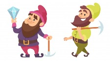 A respectful prince and dwarves