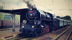 Diya's first train journey