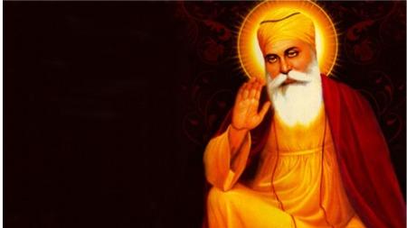 Guru Nanak and his two friends