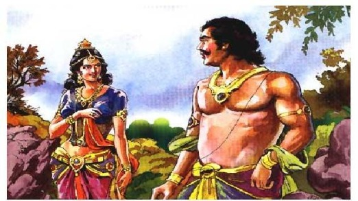 Hidimba and Bheem