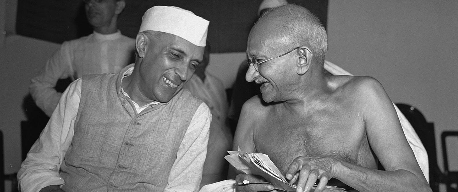 Jawaharlal Nehru and how he met Gandhiji