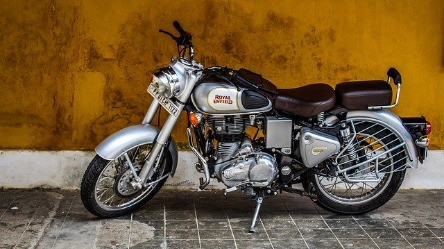 Jijo's new Motorbike