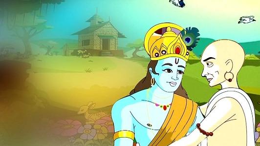 Krishna and Sudama