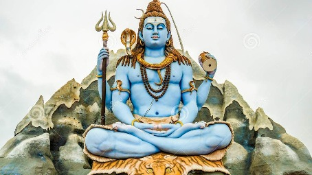 Lord Shiva and the halahala poison