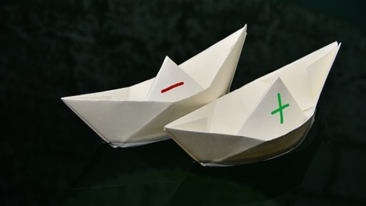 The Boy in the Paper Boat