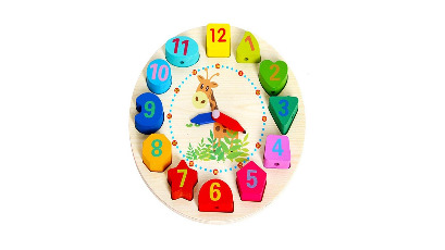 Wooden Learning Clock