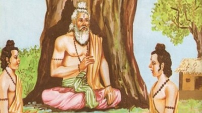 Yudhisthir and Dronachrayaa