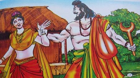 Sita's kidnapping