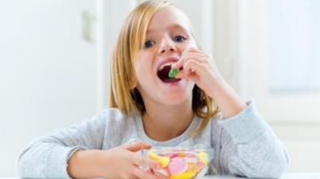 Dealing with a child's sugar eating habits