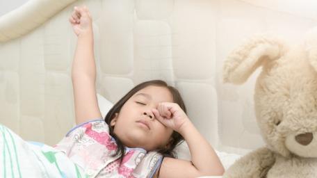 Late sleeping habit in children