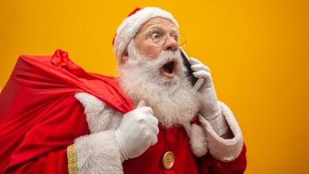 When Santa lost his HO-HO-HO