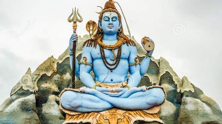 Lord Shiva and the halahala poison
