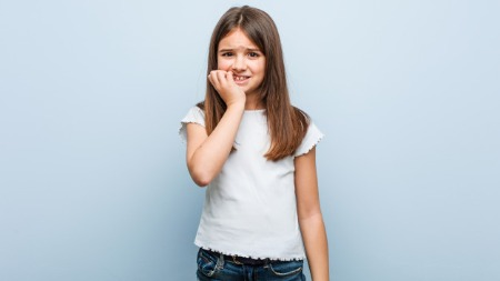 Nail biting habit in children
